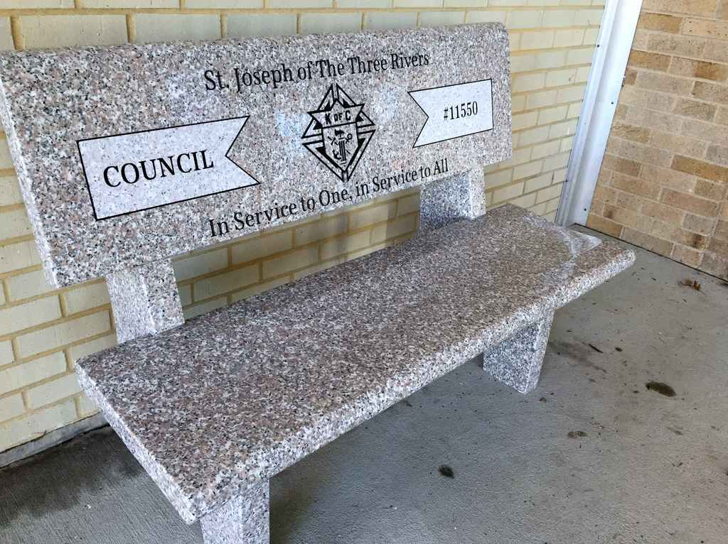 Council Bench Dedication