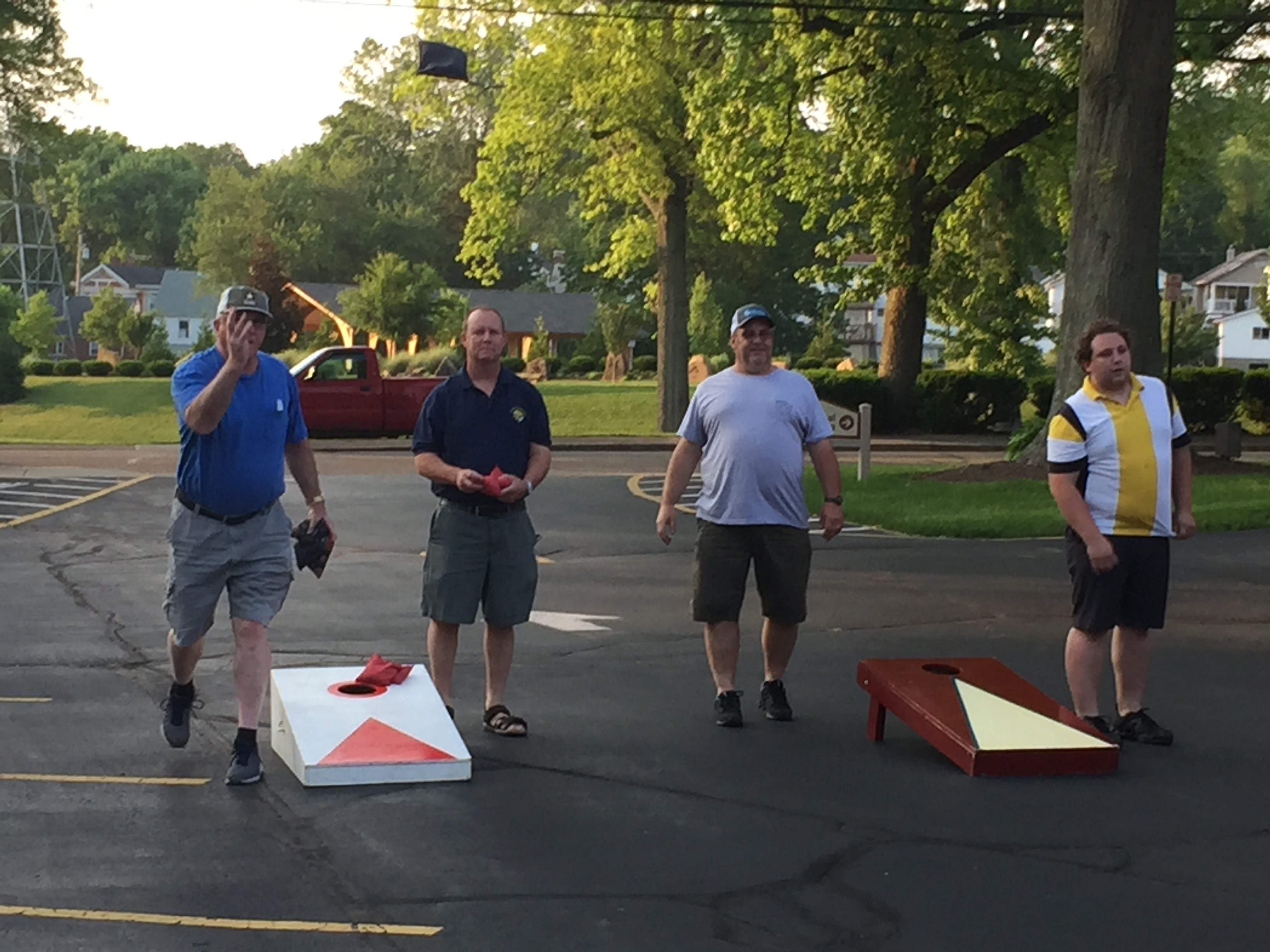 Cornhole Tournament Social